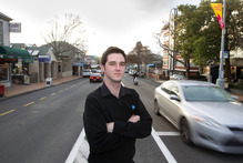 Simon Power, 25, moved from Taurang