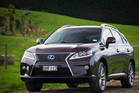 The 2.2-tonne Lexus RX450h is an all-wheel drive crossover, but it's not really designed for getting dirty. Pictures / Ted Baghurst