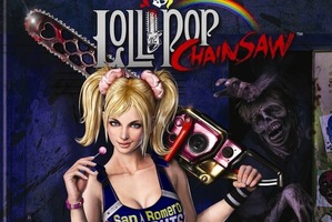 Cover for Lollipop Chainsaw. Photo / Supplied