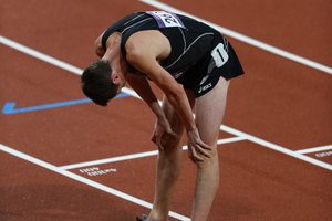 New Zealand runner Nick Willis after his disappointing run in the Men's 1500m final at the 2012 Olympics. Photo / Brett Phibbs