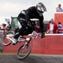 New Zealand's Kurt Pickard in action during the Olympic Games cycling BMX time trials at Olympic Park BMX track in London. Photo / Mark Mitchell.
