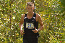 Ed Hyde is only seven points behind in the Xterra super-long division.