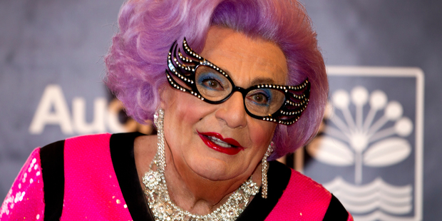 Loading Barry Humphries is touring with Dame Edna for the last time, says there is not a huge difference between Moonee Ponds and Takapuna. Photo / Steven McNicholl.