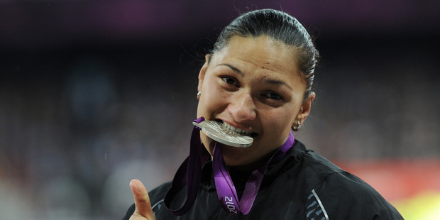 Valerie Adams will defend her world title. Photo / Brett Phibbs