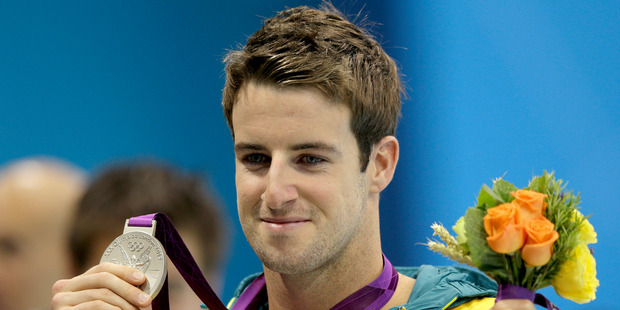 There was much gnashing of teeth across the Tasman when `The Missile' James Magnussen and his swimmates bombed. Photo / AP