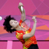 China's Wang Xin plays against India's Saina Nehwal in a women's singles badminton bronze medal match. Photo / AP.