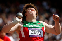 Discus thrower Brett Morse has accused Belarus' Nadzeya Ostapchuk (pictured) of doping. Photo / AP