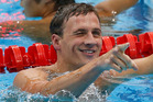 Swimming champion Ryan Lochte celebrated his Olympic haul with a night out at Chinawhite nightclub before leaving at nearly 3:30am and piling into a taxi with friends. Photo / AP