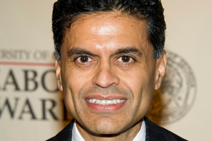 Columnist and TV host Fareed Zakaria. Photo / AP
