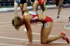 Turkey's Asli Cakir Alptekin wins gold in the 1,500m women's final. Photo / AP