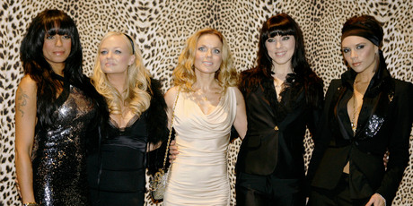 The Spice Girls will feature at the closing ceremony. Photo / AP