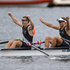New Zealand Double Scull pair of Nathan Cohen and Joseph Sullivan win Gold in the Men's Double Sculls Rowing Final. Photo / Brett Phibbs.