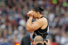 Administrative snafus left Valerie Adams struggling to cope. Photo / Mark Mitchell