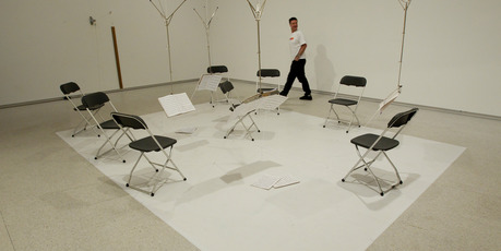'Floor Resistance' 2011 by Alicia Frankovich. Photo / Sarah Ivey