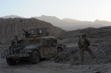 New Zealand troops will now work in a wider radius in Afghanistan after two soldiers were killed. Photo / AP