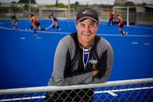 Coach Mark Hager. Photo / Natalie Slade