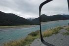 The Mokarora River on the Haast Road on the Edge of Mt Aspiring National Park. Photo / Paul Estcourt