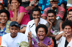Fans attend the the Coral Coast Sevens tournament held at Lawaqa Park in Sigatoka. Photo / Steven McNicholl