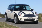 The Mini Cooper D tops the list. Photo / Mark McKeown