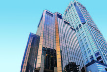 Barfoot & Thompson will add an auction room to the street-level of the Auckland Club Tower. Photo / File