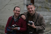'How to Meet Girls from a Distance' Make My Movie winners Dean Hewison and Richard Falkner. Photo / Supplied