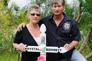 Sharlene and Malcolm Barnett lobbied after their daughter died. Photo / Mark Coote