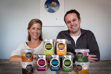 Natalie and Andrew Vivian of Tasty Pots. Photo / Natalie Slade