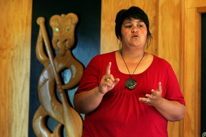 Which shadow cabinet portfolios do Nanaia Mahuta (pictured) and Jacinda Ardern hold for Labour? Photo / APN