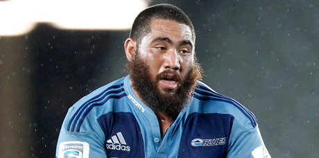 The Blues' Charlie Faumuina has been named in the All Blacks squad announced this morning. Photo / NZPA, Wayne Drought
