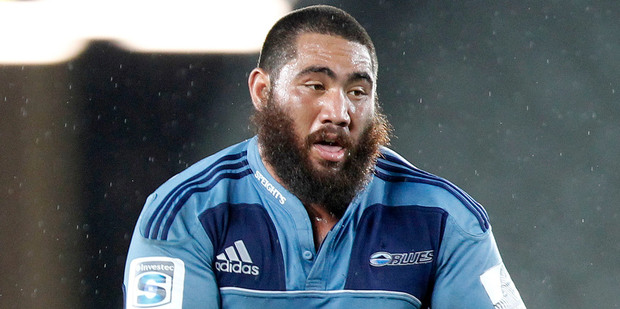 Loading The Blues' Charlie Faumuina has been named in the All Blacks squad announced this morning. Photo / NZPA, Wayne Drought