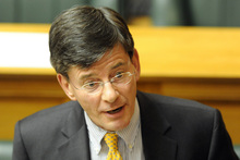 The Minister for Treaty of Waitangi Negotiations, Chris Finlayson. Photo / NZ Herald