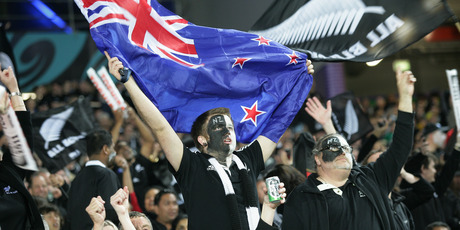 Kiwis aren't as committed to the flag as sports fans when it comes to investing. Photo / Ron Burgin