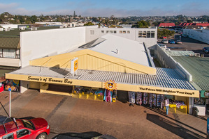 The freehold property for sale at 14 Clyde Rd, leased to Sunny's Variety Stores.