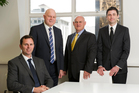 The Savills team (from left) Steve Dunlop, Doug Osborne, Paddy Callesen and Jeremy Barnett.
