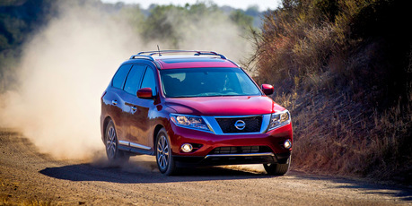 The new Nissan Pathfinder is still a four-wheel drive, but design changes mean it is less of a workhorse than its predecessor. Photo / Supplied