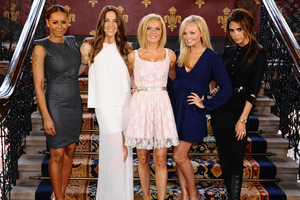 The London Games closing ceremony that will see stars from the Spice Girls to The Who turn Olympic Stadium into a giant jukebox of musical hits. Photo / AP