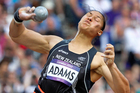 New Zealand gold medal hope Valerie Adams has safely secured herself a spot in the women's Olympic shot put final. Source / Mark Mitchell NZ Herald