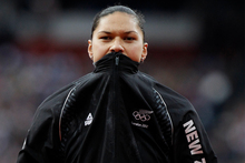 Valerie Adams and 1500m runner Lucy van Dalen's forms were not correctly filled out. Photo /  Mark Mitchell