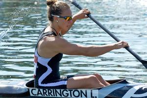 New Zealand canoe sprint medal-hope Lisa Carrington. Photo / Brett Phibbs NZ Herald