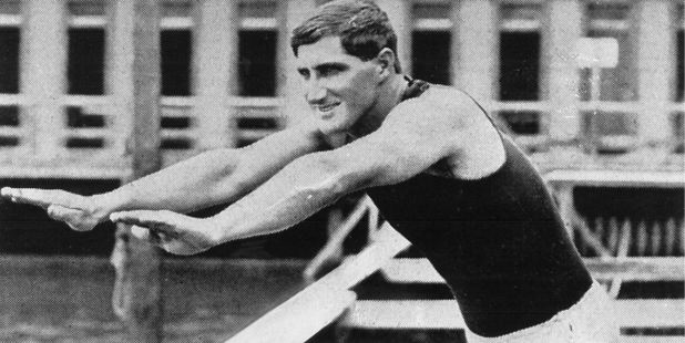 1912 Olympic gold medal winner Malcolm Chapmion was descended from HMS Bounty mutineers and the first Olympian to win gold. Photo / www.olympic.org.nz