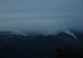 Hydrothermal activity at Mt Tongariro following last night's eruption. Photo / Supplied