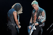 Metallica will headline the Soundwave Festival in Australia. Photo / AP 
