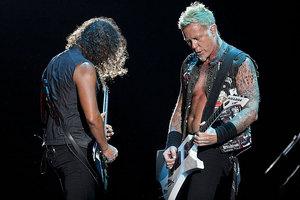 Metallica will headline the Soundwave Festival in Australia. Photo / AP