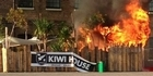 Watch: Olympics: Kiwi house on fire in London