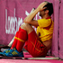 Spain's Roc Oliva cries as his team is disqualified to reach semifinals following a preliminary round hockey match against Britain at the 2012 Summer Olympics, in London. Photo / AP.