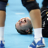 Montenegro's Katarina Bulatovic screams in pain following a back injury during awomen's handball preliminary match against Russia at the 2012 Summer Olympics. (AP Photo/Vadim Ghirda)