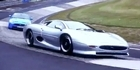 Watch: Jaguar XKR-S vs XJ220 at Nurburgring