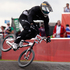 New Zealand's Kurt Pickard in action during the Olympic Games cycling BMX time trials at Olympic Park. Photo / Mark Mitchell