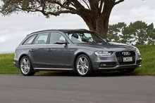 The A4 TFSI has a $69,990 starting point, with a long list of optional extras. Photo / Phil Hanson