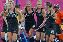 New Zealand beat USA with a late Clarissa Eshuis goal. Photo / Brett Phibbs 